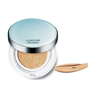 LANEIGE BB Cushion(Pore Control) SPF50+ PA+++ No23 Sand Beige15g+ Refill 15g