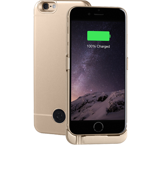 http://www.mnogo.ru����� - ����������� Interstep<br> ��� iPhone 6S/6 Gold