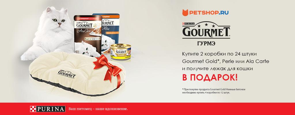 PetShop и Много.ру: лежак для кошки в подарок